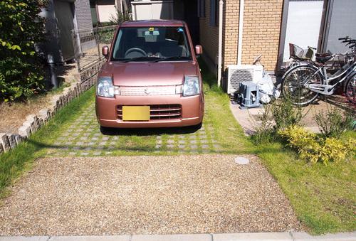 ガレージ施工前-thumb-500x339