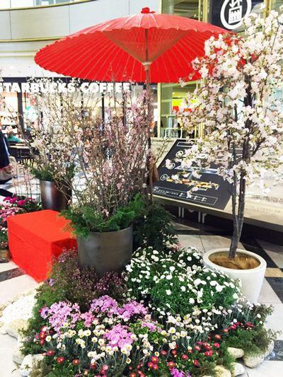 IMP桜装飾